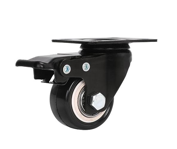 轻型金钻平底刹车轮