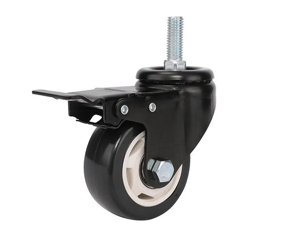 减震双轮脚轮的功能是否能更完善?